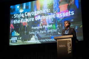 François Pachet presenting Style Cryogenics