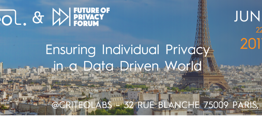 ensuring privacy in a data driven world