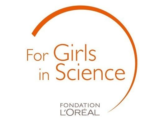 Logo For Girls in Science, by the L'Oréal Foundation. ***Files in .ai, .eps et .png available by downloading***